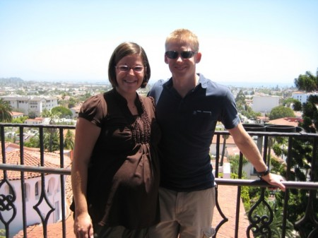 Rachel and Matt in Santa Barbara