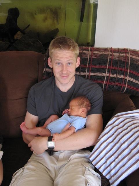 Matt holding Slias