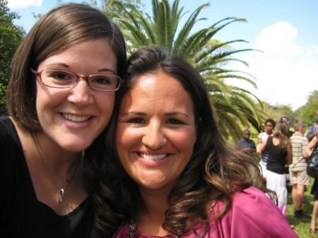 Rachel and Jen