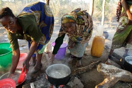 Village Ladies Working