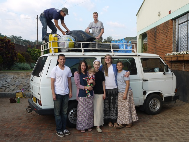 TMC Team Ready to Leave for Mozambique