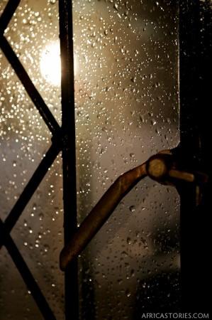 Rainy Kitchen Window