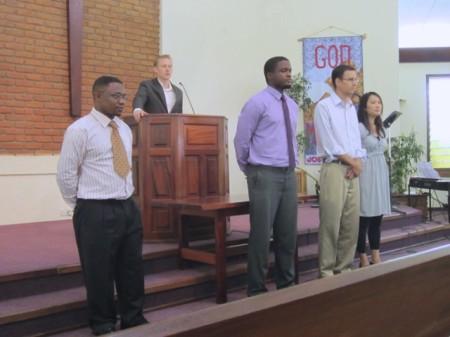 New Church Members