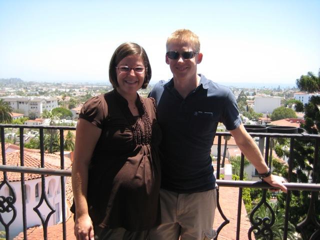 Rachel and Matt in Santa Barbara
